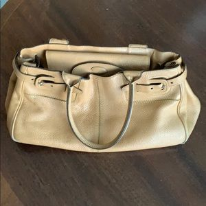 Tod's Purse - Pebbled Tan Leather